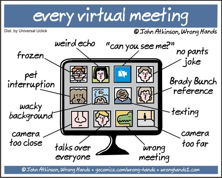virtuele meeting